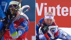 Ampumahiihto maailmancup naisten takaa-ajo 24.3.2018