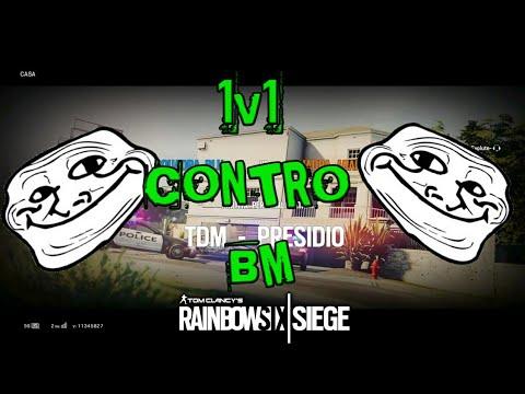 """1v1 CONTRO BM SU Rainbow Six Siege!!! 2#""""IL SUO AMICO CI AFFRONTA"""""""