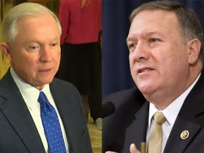 Trump Picks Sessions for AG Pompeo for CIA
