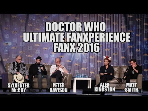 Doctor Who Ultimate FanXperience Panel at FanX 2016