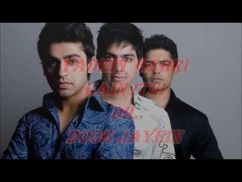 Aadat Jal full karaoke song with lyrics