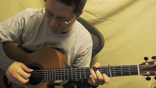 """Melodies of Life"" from Final Fantasy IX (acoustic guitar solo)"