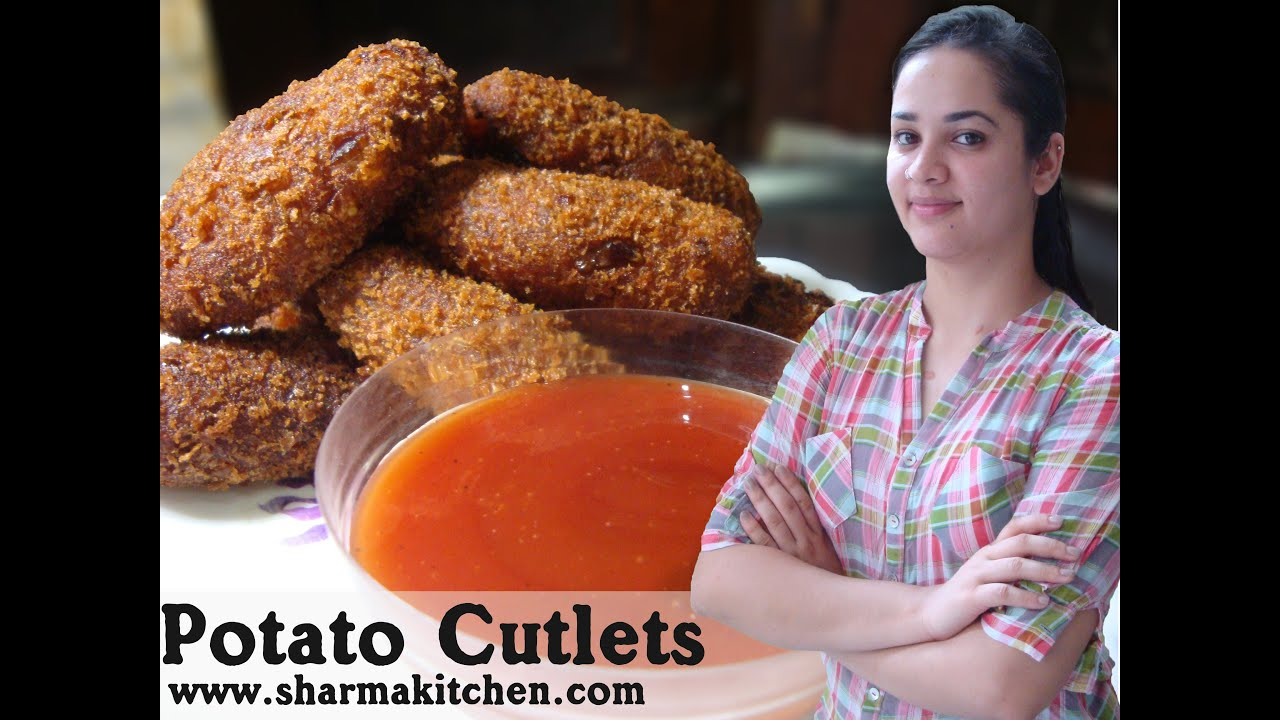 how to prepare aloo cutlet