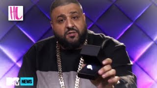 Dj Khaled Proposes To Nicki Minaj With 500k Ring On MTV News