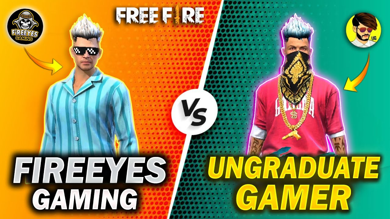 Ungraduate Gamer VS FireEyes Gaming? Best Clash Battle Who will Win - Garena Free Fire
