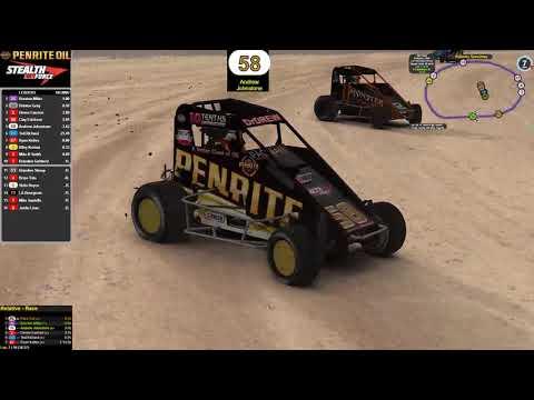 Dirt Midget Kokomo Speedway 20 lap Feature