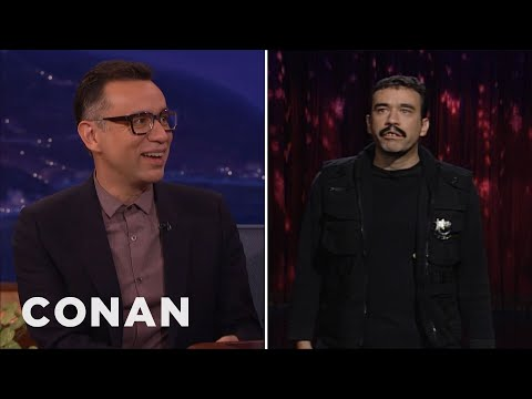 "Fred Armisen Remembers His ""Late Night"" Stand-Up Set  - CONAN on TBS"