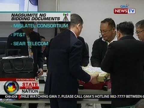 SONA: Mislatel Consortium, idineklarang provisional new major player ng NTC