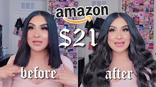 TESTING CHEAP HAIR EXTENSIONS FROM AMAZON | REECHO ♡︎