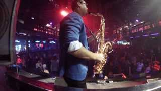 Syntheticsax - Live improvization (Matrix club, Kursk City)