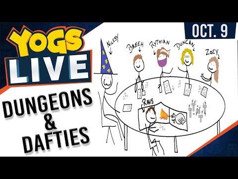 DUNGEONS & DAFTIES w/ Ravs, Nilesy, Rythian, Duncan, Zoey & Breeh - 9th October 2017