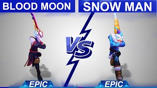 Blood Moon Master Yi vs Snow Man Master Yi Skin Comparison | SKingdom - League of Legends