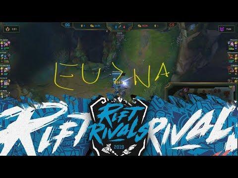 NA vs EU ALL THE TRASH TALKING - Rift Rivals 2019