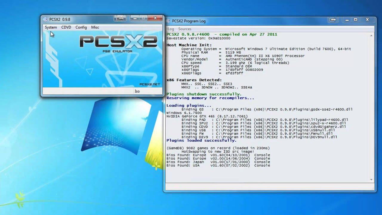 PCSX2 1 8 Download, Install, and Run HD 1080
