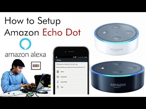 How to connect echo dot to wifi hotspot