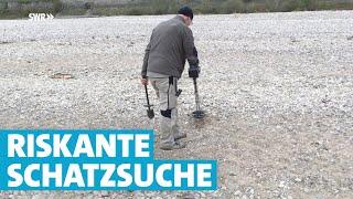 Riskante Schatzsuche auf dem Grund des Rheins | SWR | Landesschau Rheinland-Pfalz