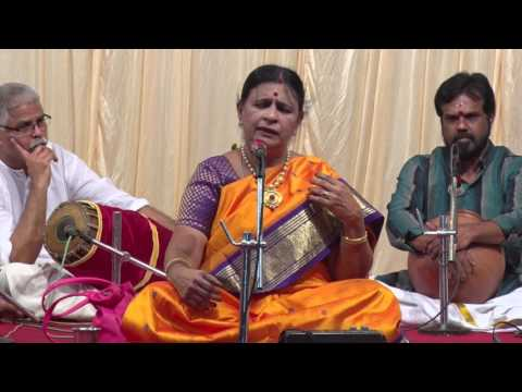 Bombay Lakshmi Rajagopalan - Maamavathu Sri Saraswati - Music Festival 2016, Day 2