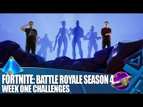 Fortnite: Battle Royale Season 4 - Week One Challenges