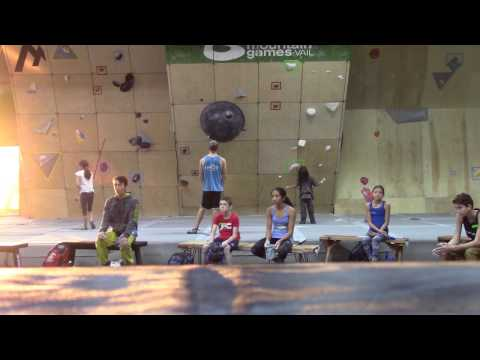 Championship Bouldering Intensive Video 1