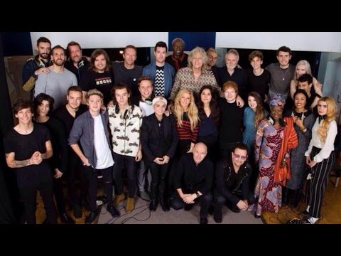 Recording Band Aid 30!