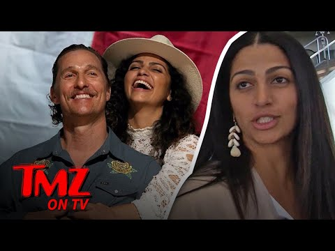 Camila Alves Takes Our Camera Guy To Her Office!  TMZ TV