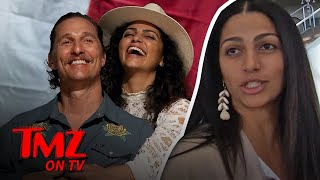 Camila Alves Takes Our Camera Guy To Her Office! | TMZ TV