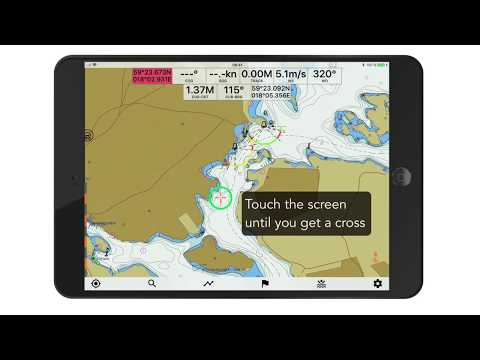 Seapilot navigation app - How to use ERBL - Electronic Range & Bearing Line