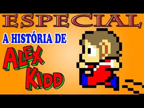 A História de Alex Kidd