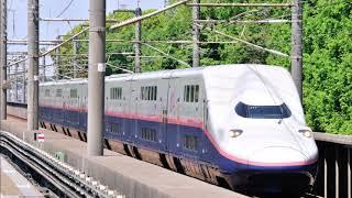E4系新幹線 E455-24形 東京→(MAXとき369号)→新潟