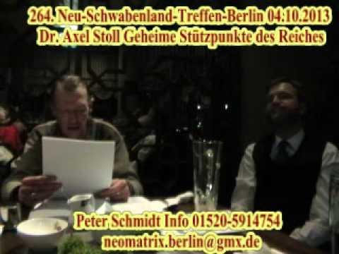 Geheime Basen des Reiches Dr. Axel Stoll 264. Neu-Schwabenland-Treffen