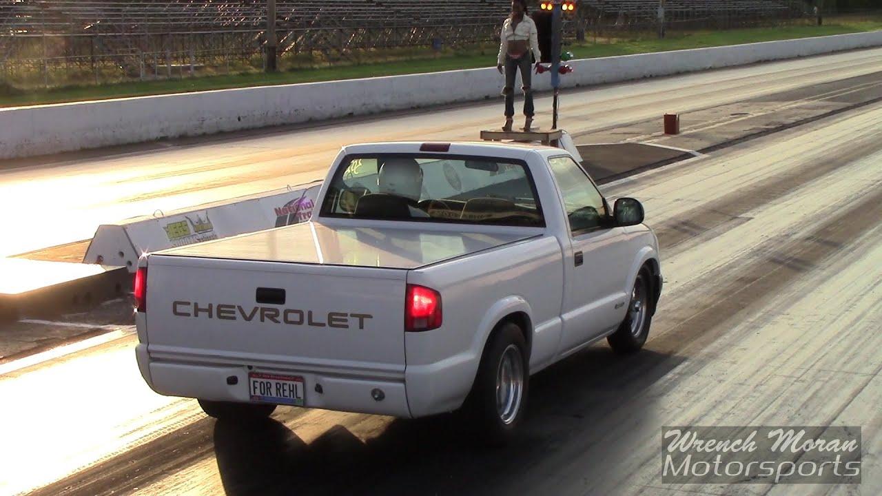 Fast S10 V8 Drag Trucks!