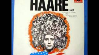 HAARE-ORIGINAL GERMAN CAST ALBUM FEATURING - DONNA GAINES WASSERMAN -AQUARIUS /LET THE SUNSHINE IN