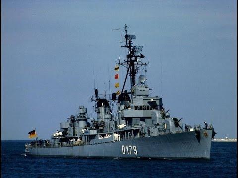Bundesarchiv Film Zerstörer 5 - D179 (ex USS Dyson - DD572) von 1967