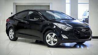 Hyundai Elantra с пробегом 2012 смотреть