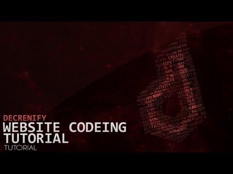 Tutorial | Part 2/3 of design/code a simple website | Decrenify