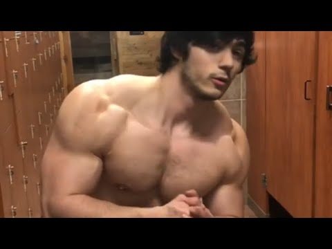 Young muscle guy flexing from YouTube · Duration:  36 seconds
