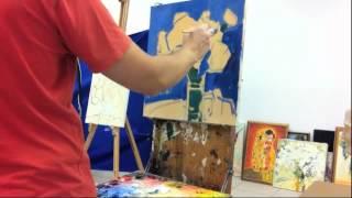Видео урок живописи маслом: мастер-класс