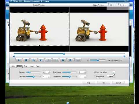 Бесплатная программа для добавления эффектов на видео.