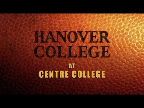 Hanover College Football at Centre College 9-3-2016