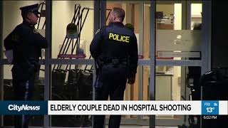 Elderly couple dead after shooting in Cobourg hospital