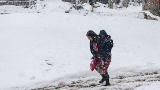 Не менее 25 человек погибли в Европе из-за морозов (новости)