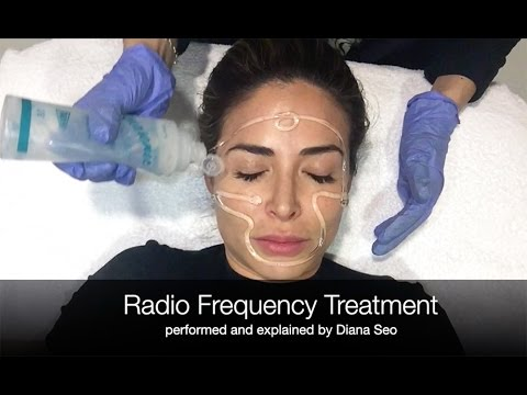 Radio Frequency Anti-Aging Facial Treatment -- Bye Wrinkles!