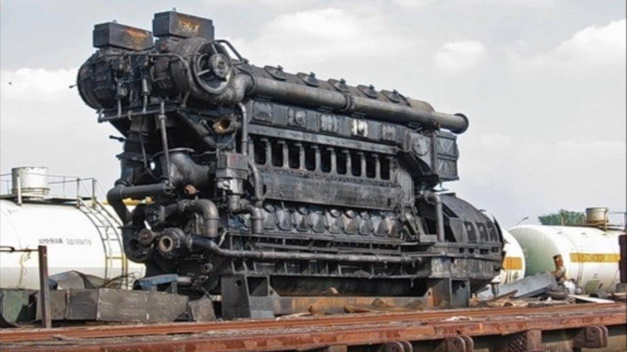 Largest Cargo Ship >> 10 САМЫХ НЕОБЫЧНЫХ МОТОРОВ - YouTube