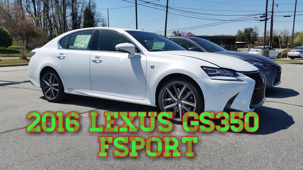 2016 lexus gs 350 fsport flow lexus of greensboro youtube. Black Bedroom Furniture Sets. Home Design Ideas