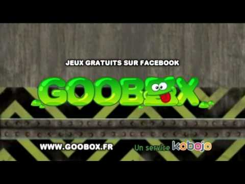 goobox jeux gratuits sur facebook youtube. Black Bedroom Furniture Sets. Home Design Ideas