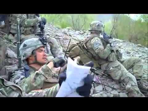Fox Co , 2 506 PIR, patrol in Baqer Kheyl, Afghanistan, April 8, 2011