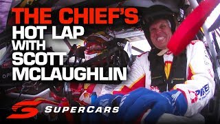 ONBOARD: Scott McLaughlin takes The Chief for a Hot Lap at Newcastle   Supercars Championship 2019