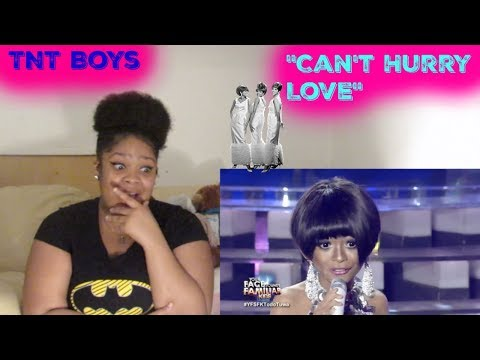 TNT Boys- Cant Hurry Love Reaction- The Supremes
