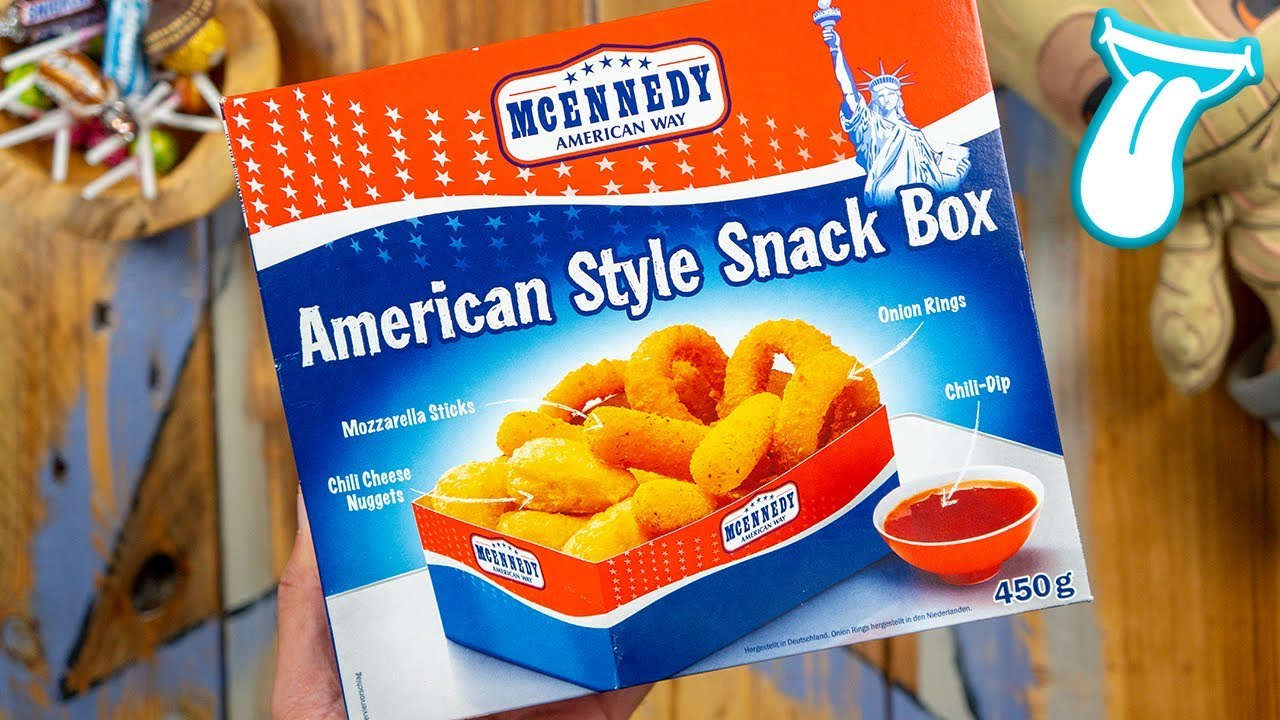 McEnnedy American Style Snackbox von LIDL   Chili Cheese Nuggets, Onion Rings    In Aller munde