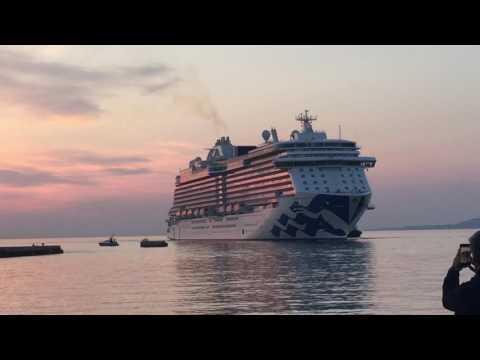 Majestic Princess   Love Boat Theme   Foghorn music